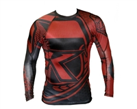 Contract Killer Long Sleeve Stained Rashguard