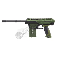 Dye Paintball DAM CQB Assault Matrix Tactical Mag Fed Marker - Black/Olive Drab