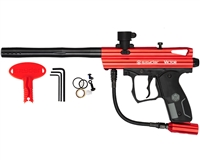Kingman Spyder Victor Paintball Marker - Gloss Red
