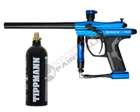 Kingman Spyder Fenix Electronic Paintball Marker & Free CO2 Tank (20oz)
