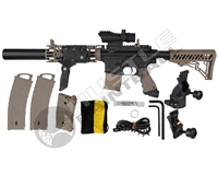 Tippmann MagFed TMC JM20 Paintball Gun - Black/Tan