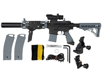 Tippmann MagFed TMC JM20 Paintball Gun - Black/Grey