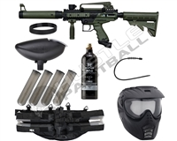 Tippmann Epic Paintball Gun Combo Pack - Cronus Tactical - Olive/Black