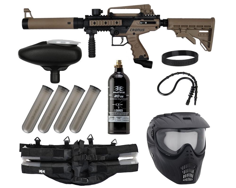 Tippmann 50 Caliber Epic Paintball Gun Combo Pack Cronus Tactical