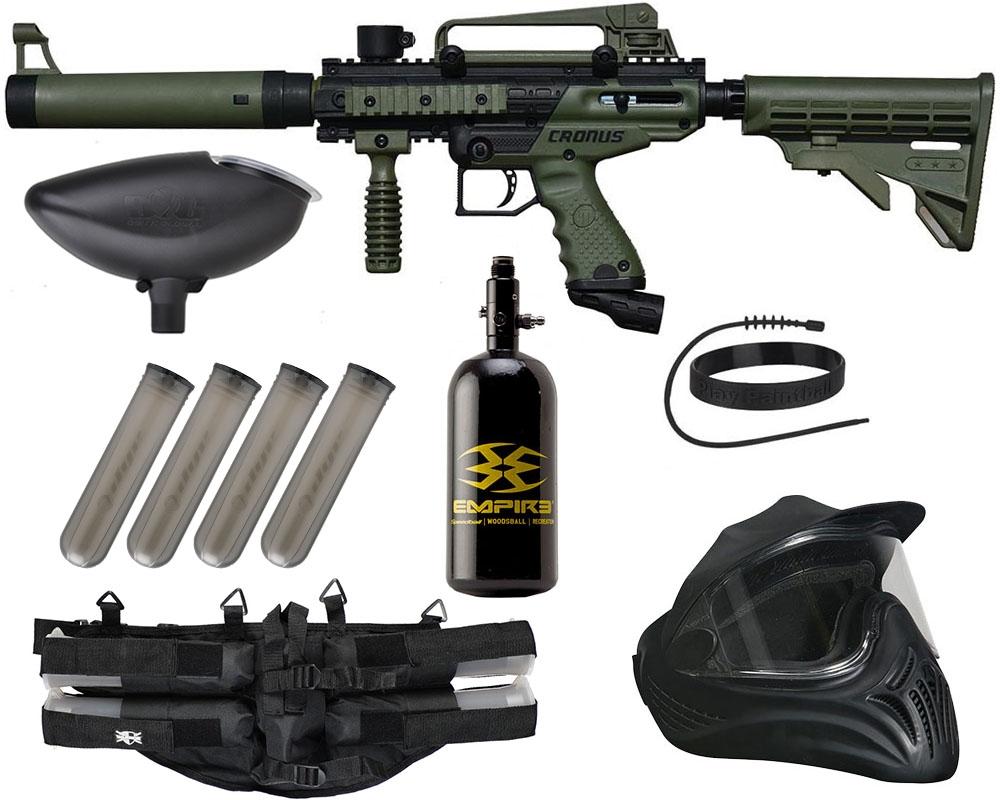 Tippmann Cronus Tactical Legendary Paintball Gun Package Kit