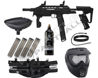 Tippmann Tactical Compact Rifle (TCR) Epic Paintball Marker Package