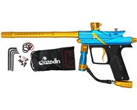 Azodin Blitz III Electronic Paintball Marker - Blue/Gold