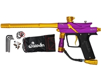 Azodin Blitz III Electronic Paintball Marker - Purple/Gold
