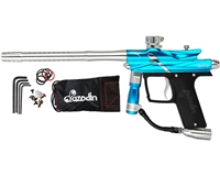 Azodin Blitz III Electronic Paintball Marker - Blue/Silver