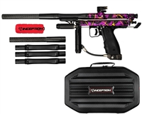 Inception Designs Retro FLE Autococker Marker - Purple Splash