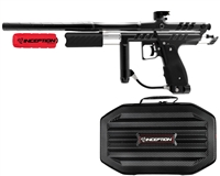 Inception Designs Retro Hornet Pump Paintball Marker- Black/Black