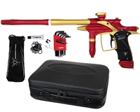 Dangerous Power Fusion Elite Paintball Marker - Red/Gold