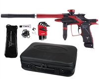 Dangerous Power Fusion Elite Paintball Marker - Black/Red