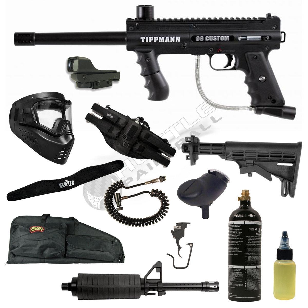 Tippmann 98 Custom Pro E Trigger Upgrade Kit Karmashares Platinum Series Rt Gun Parts V080616 Diagram Ultra Basic Paintball Starter Package