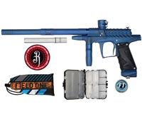 Field One/Bob Long Ripper G6R Intimidator Paintball Marker - Blue/Grey Distressed