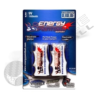 Energy Paintball 9V Alkaline Battery (2-pack)