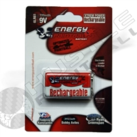 Energy Paintball 9V Rechargeable Battery (320 mha)