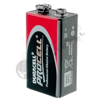 Duracell Procell Paintball 9V Alkaline Battery