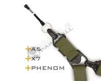 TECHT Paintball Sling Pin with Magpul PTS Sling - A5/X7/X7 Phenom