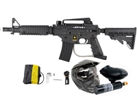 Tippmann US Army Alpha Black Elite Tactical Paintball Marker Power Pack