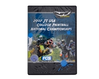 JT USA 2007 College Paintball National Championship DVD
