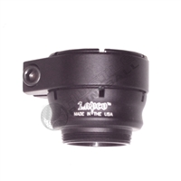Lapco Ultra Low Rise Clamping Feed Neck - Ion XE - Bead Blasted Black