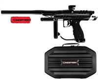 Inception Designs Retro Hornet Full Body Autococker Paintball Marker - Black/Black