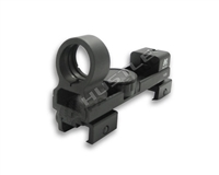 NCStar 1X25 Red/Green Dot Sight - Black - Weaver/Picatinny/ 3/8in Dovetail (DAB)
