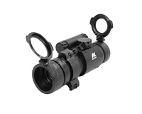 NCStar 1X30 Red Dot Scope - Black ABS - Weaver/Picatinny (DP130)