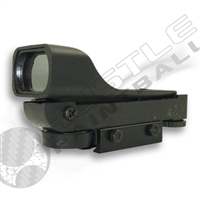 NCStar Red Dot Sight - Black ABS - 3/8in Dovetail (DP3/8)