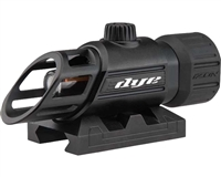 Dye Precision DAM Izon Red Dot Sight - Black