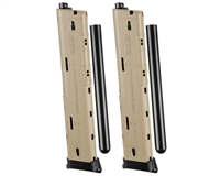 2 Pack Stark Pursuit 20 Round ZetaMag Gen 3 Magazine - TiPX/TPX - Tan