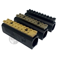 Lapco TPX Front Block with Weaver/Picatinny Rail - Flat Dark Earth (Flat Dark Earth - FDE)