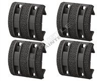 Magpul XTM Enhanced Rail Panels 4 Sets - Black