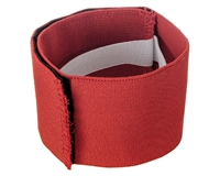 Extreme Rage Velcro Paintball Armband - Red