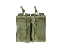 NCStar AR Double Mag Pouch - Green