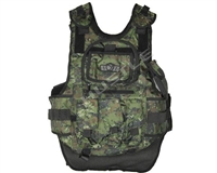 Gen X Global Tactical Vest with 4+2+1 pack - Digital Woodland Camouflage