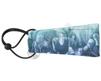 Kohn Sports Barrel Cover - Mitul Mistry Signature Series - Tubehead - Aquamarine