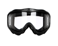 JT Goggles Frame (Black) w/ Clear Lens (Eye Protection Only)