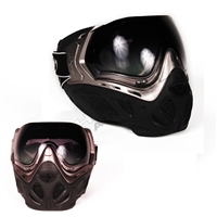 Sly Equipment Profit Paintball Mask - Black/Titanium