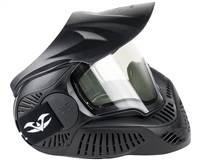 Valken MI-3 Thermal Paintball Mask - Field Single - Black (V353204)