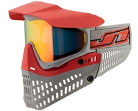 JT Spectra ProFlex Thermal Paintball Goggles - Red/Grey