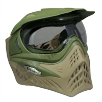 V-Force Grill Paintball Mask - Olive/Tan