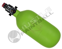 "Ninja Paintball 45 cu 4500 psi ""SL2"" Carbon Fiber HPA Tank - Lime (Cerakote Finish)"