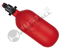 "Ninja Paintball 45 cu 4500 psi ""SL2"" Carbon Fiber HPA Tank - Red (Cerakote Finish)"