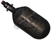 Ninja Paintball 68 cu 4500 psi Lite Carbon Fiber HPA Tank - Translucent Black