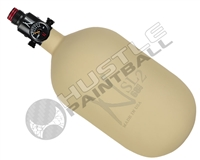 "Ninja Paintball 68 cu 4500 psi ""SL2"" Carbon Fiber HPA Tank - Sand (Cerakote Finish)"