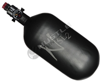 "Ninja Paintball 77 cu 4500 psi ""SL2"" Carbon Fiber HPA Tank - Matte Black (Cerakote Finish)"
