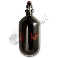 Ninja Paintball 77 cu 4500 psi ''SL'' Carbon Fiber HPA Tank - Super Light - Black