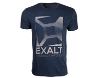 Exalt Knockout T-Shirt - Navy/Grey